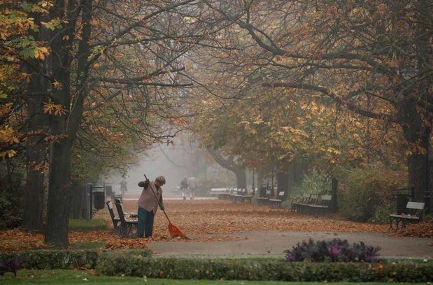 Un mois d'octobre chaud, humide et très sombre