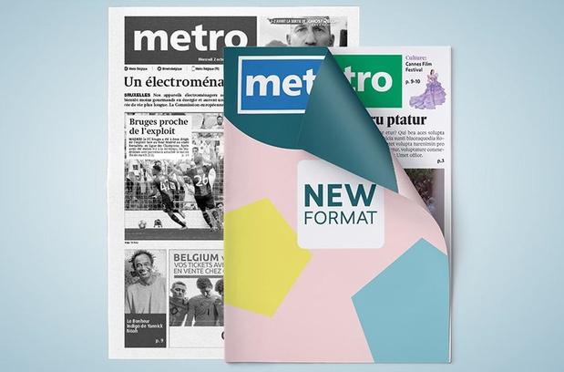 Metro viert jubileum op nieuw formaat