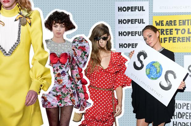 Van polkadots tot kleding huren: dit zijn de modetrends van 2020
