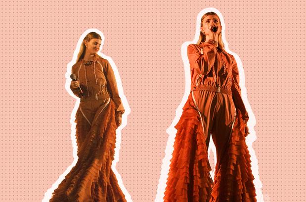 Emma Bale over haar podiumoutfits: 'Mode en muziek gaan voor mij hand in hand'