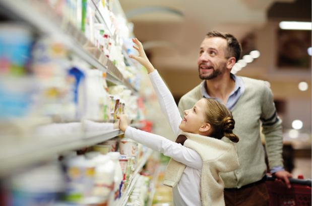 Supermarkten kunnen fors terug in plastic verpakkingen