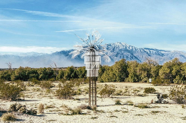 L'Art s'invite dans le désert