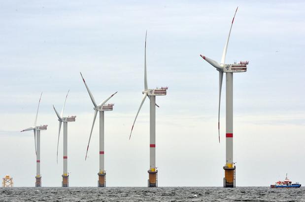 Belgische baggeraar DEME bouwt mee aan grootste windmolenpark ter wereld