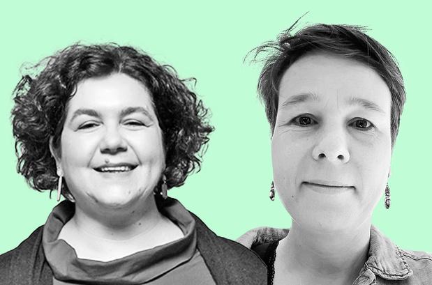 Annalise Casini en Lisa Wouters van Sophia: 'Feminisme wordt vaak van tafel geveegd als ideologisch geneuzel'