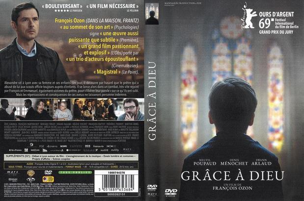 5x dvd Grâce à Dieu
