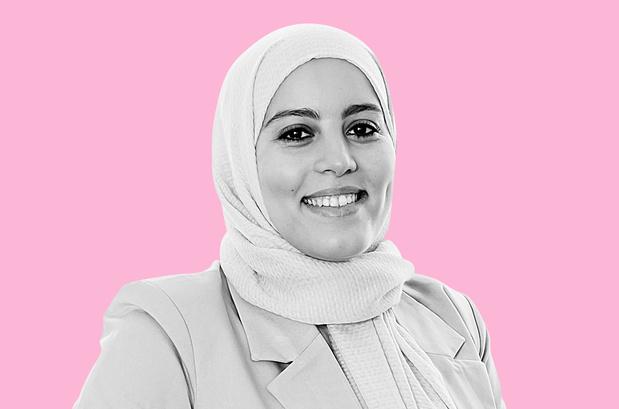 Ondernemer Hanan Challouki: 'Zeven op de tien vrouwen vrezen de impact van de coronacrisis op hun carrière te voelen'