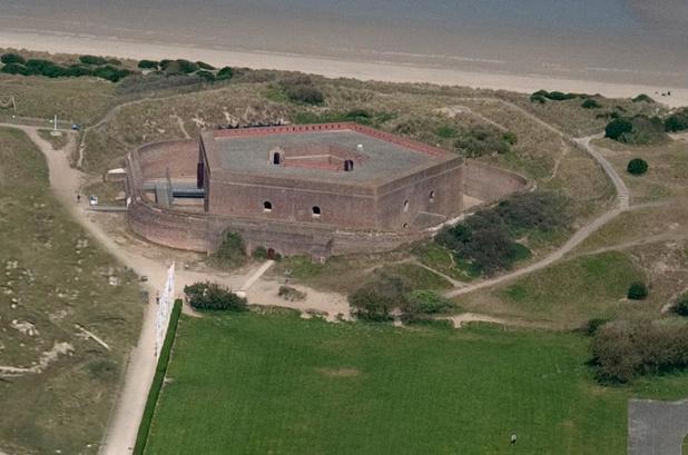 Vlaamse premie voor restauratie Fort Napoleon