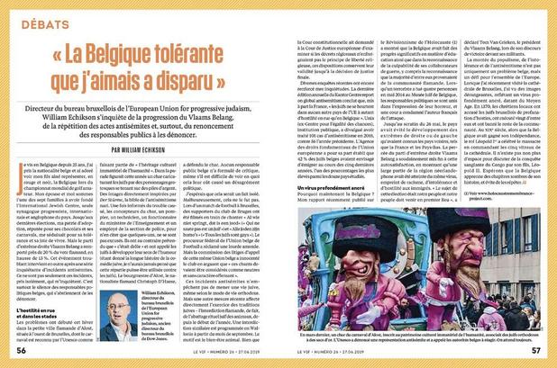 """"""" La Belgique tolérante... """" (1)"""
