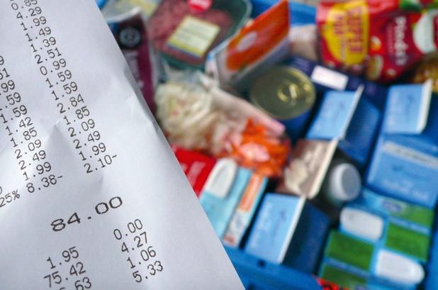 Léger recul de l'inflation en Belgique