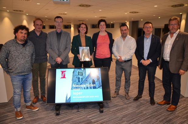 Ieper stelt meerjarenplan voor: onder andere nieuw zwembad van 14 miljoen euro