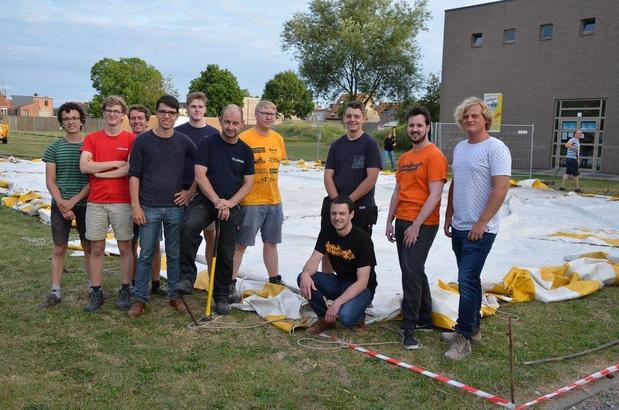 Voorbereidingswerken van start voor familiefestival p'Latse Doen in Kuurne