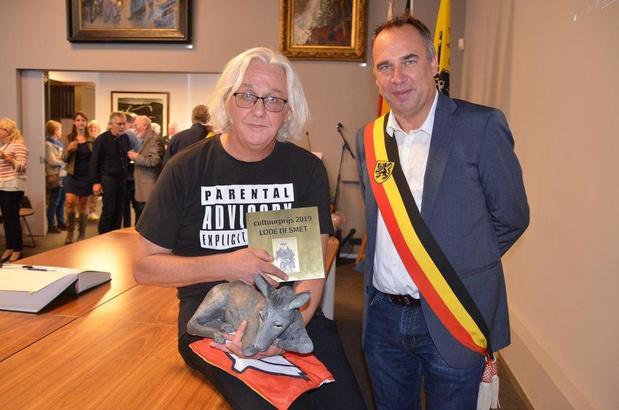 Lode Desmet wint cultuurprijs Kuurne