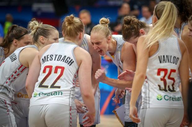 Belgian Cats geplaatst voor kwartfinale EK na ware thriller tegen Slovenië