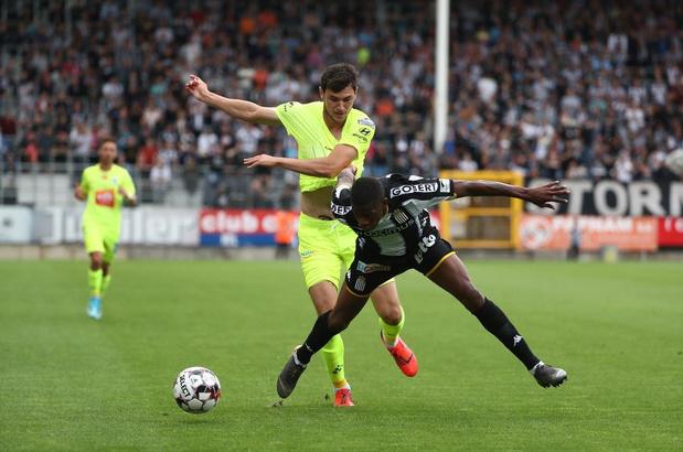 KAA Gent tegen zwart beest in de Croky Cup