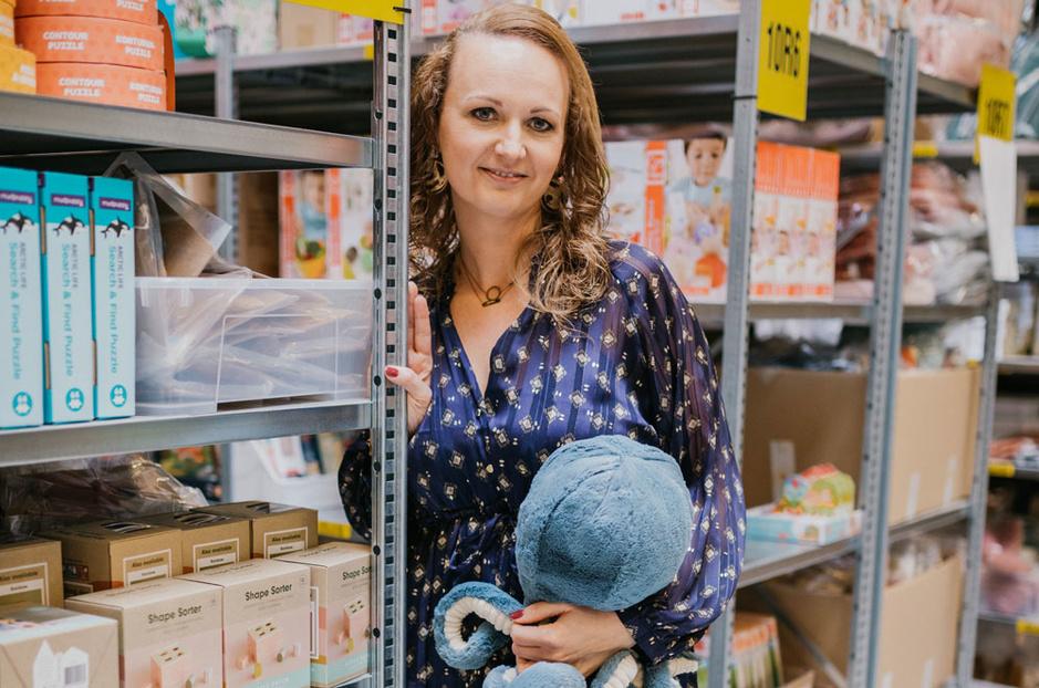 Digitale baby- en kinderwinkel 'De Gele Flamingo' opent bakstenen conceptstore