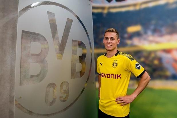 Thorgan Hazard s'engage avec le Borussia Dortmund (vidéo)