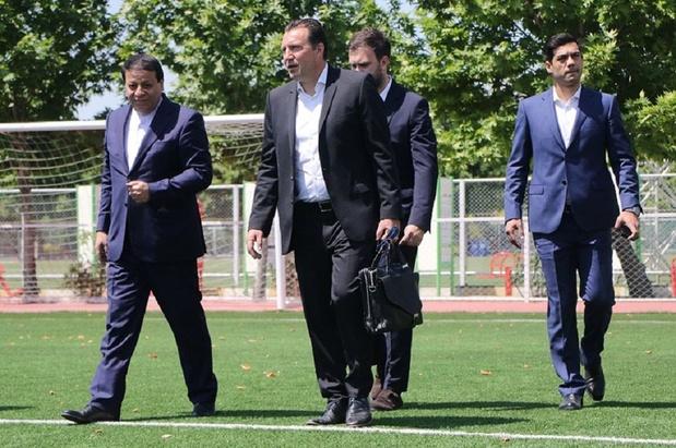 Wilmots quitte l'Iran sans avoir signé de contrat