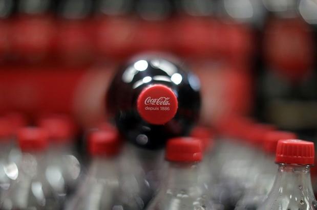 Europese vakbonden protesteren aan zetel Coca-Cola in Anderlecht