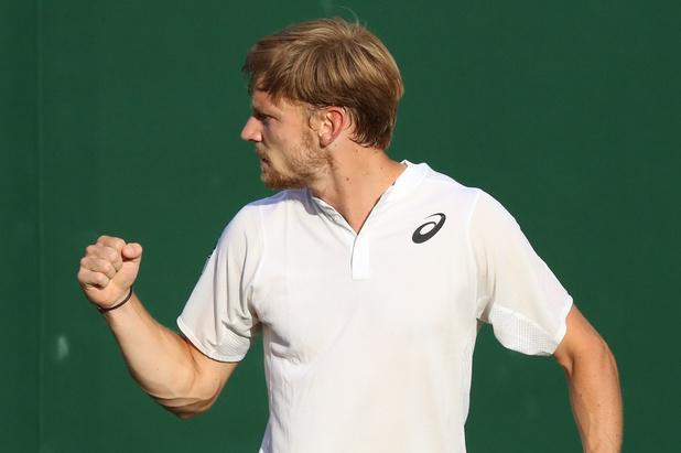 Wimbledon: Goffin rejoint le 2e tour sur un triple 6-4