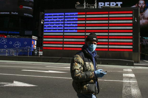 Economie VS krimpt met 4,8 procent in eerste kwartaal