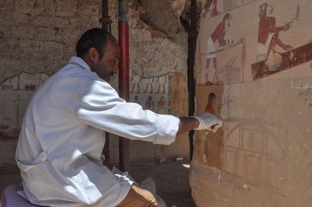 Archeologen onthullen 3.500 jaar oud graf in Luxor