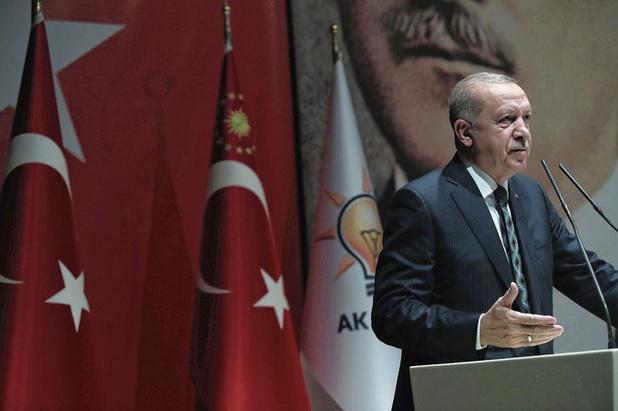 Erdogan oogst economische sancties
