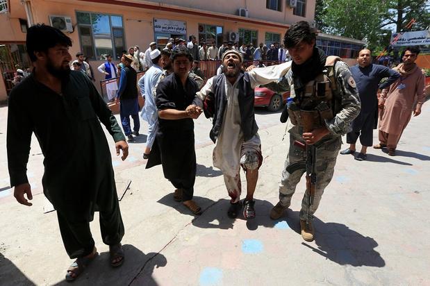 '12 doden en 56 gewonden bij zelfmoordaanslag in Afghanistan'