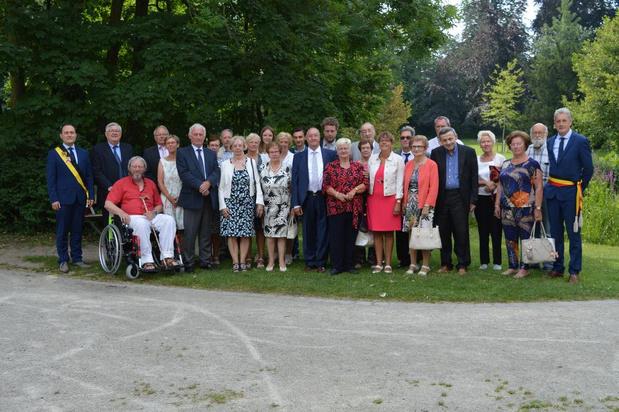 Gouden feest voor Jacques Vervenne en Artlette Van Overbeke uit Tielt