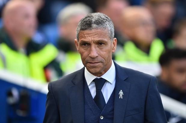 Brighton se sépare de son entraîneur Chris Hughton, en poste depuis quatre ans et demi