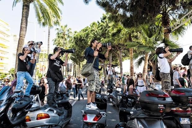 Dicht bij de filmsterren in Cannes