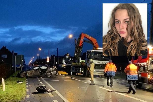 """Emilie (20) komt om bij ongeval in Ichtegem, bestuurder had gedronken: """"Ze was zo'n lieve collega"""""""