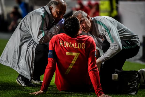 Ronaldo pourrait manquer le match aller à l'Ajax
