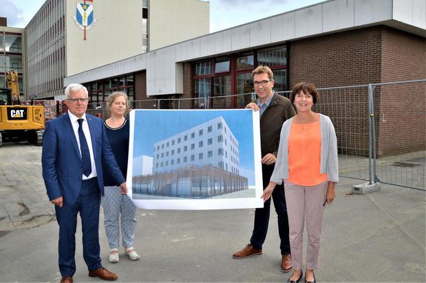 Groen licht voor internaatgebouw met 68 kamers op site Sint-Lodewijkscollege