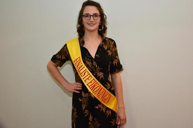 """Jolien Buckens uit Waregem enige West-Vlaamse finaliste voor Eikoningin: """"Ik heb jaren gewacht"""""""
