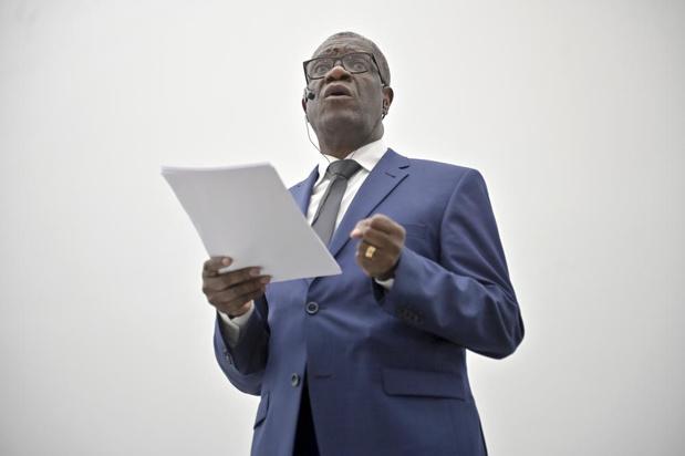 Violences sexuelles: le Dr Mukwege annonce le lancement d'un Fonds mondial pour les victimes