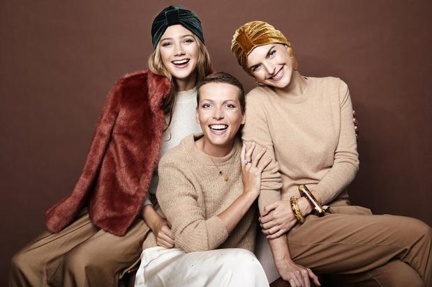 "Céline Laridon maakt stijlvolle 'chemomutsjes': ""Ik wil lotgenoten blij maken"""