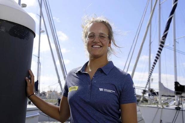 Zeilster Emma Plasschaert is één van de vele West-Vlamingen in Palma de Mallorca