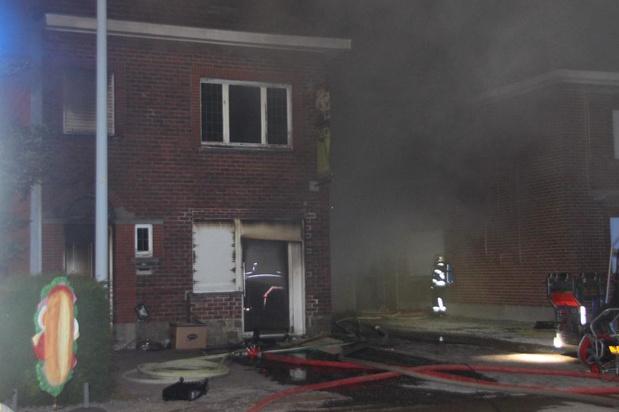Brand vernielt broodjeszaak Hap in Gullegem