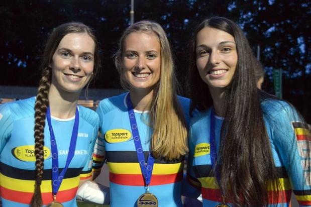 Stien Vanhoutte uit Gistel verbetert Belgisch record op 500 meter