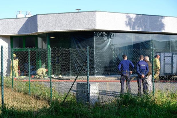 Koffiebrandmachine vat vuur in koffiebedrijf in Veurne