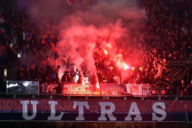 Politie verbiedt optocht harde kern PSG door centrum Brugge