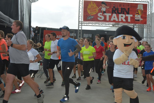 600 deelnemers aan tweede editie Filou-run