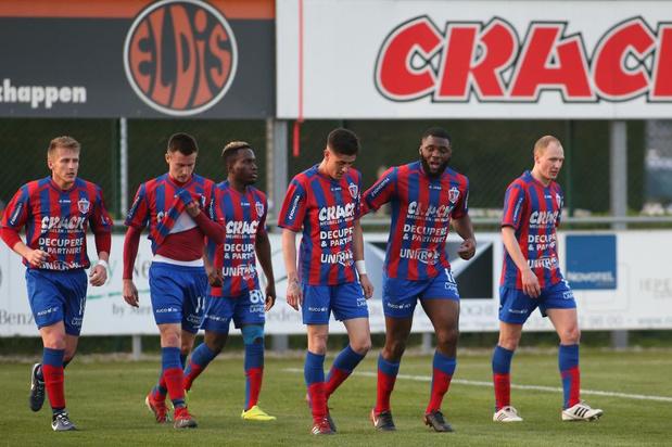 KVK Westhoek lijdt ook tegen RC Gent een nederlaag