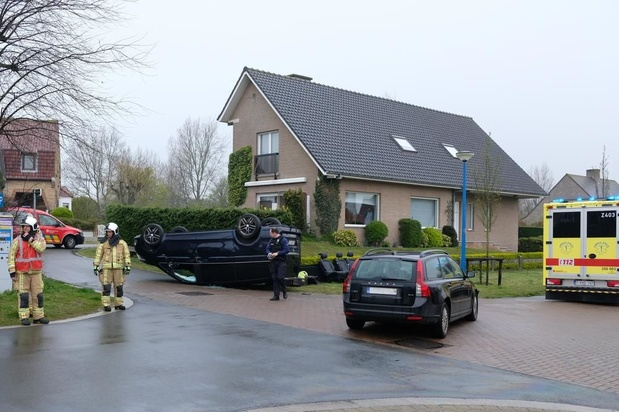 Opnieuw ongeval in Koksijde door negeren voorrangsregels