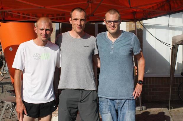 Stein Vynck en Charline Vanneste winnen de Saladekermisloop in Egem