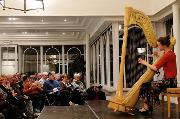 Brugse Harpiste Mathilde Wauters haalt brons op prestigieuze internationale competitie