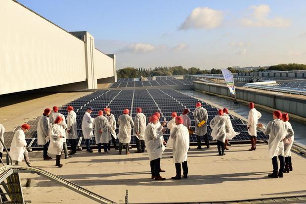 Engie plaatst 13.700 zonnepanelen op dak Pasfrost Zonnebeke