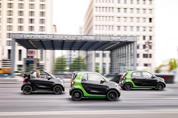 La Smart sera bientôt exclusivement électrique