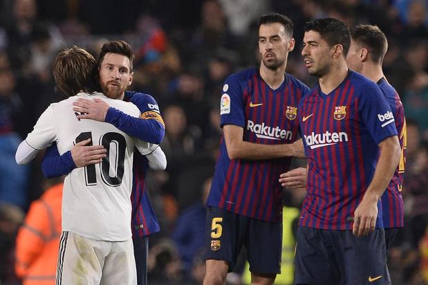 Clásico van 26 oktober: niet in Barcelona, maar in Madrid?