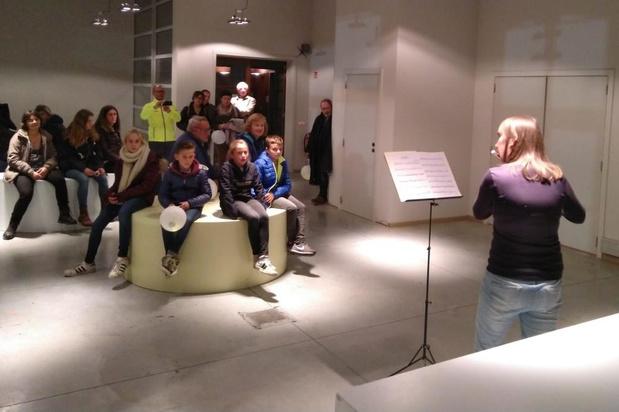 Ruim 100 wandelaars nemen deel aan lampionnentocht in Waregem